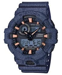 G Shock Denim Print Watch