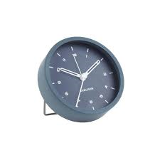 Karlsson Tinge Blue Alarm Clock