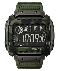 Timex Comman Shock 54mm Resin Strap Watch