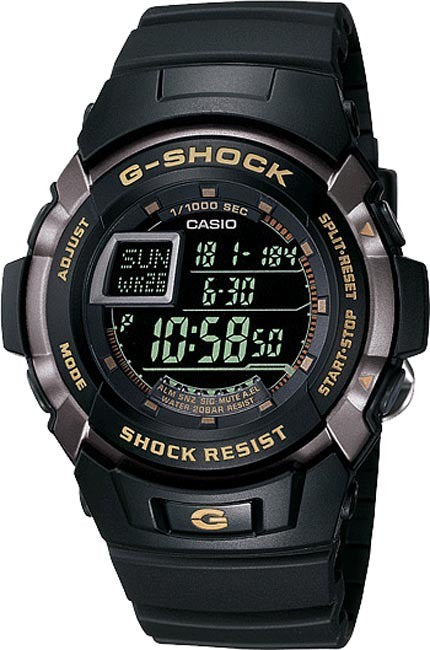 Digital G SHOCK Black