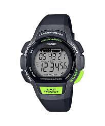 Casio Black/Lime Green Digital Watch