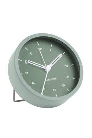 Karlsson Tinge Green Alarm Clock