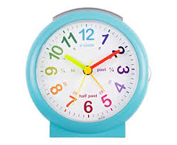 Lulu Time Teaching Alarm Clock BLUE