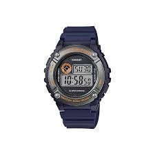 Casio Digital Watch Alarm Blue and Orange