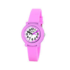 Cactus Time Teacher Watch Pink