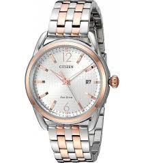 Ladies Two Tone Citizen Eco Drive Watch FE6086-74A