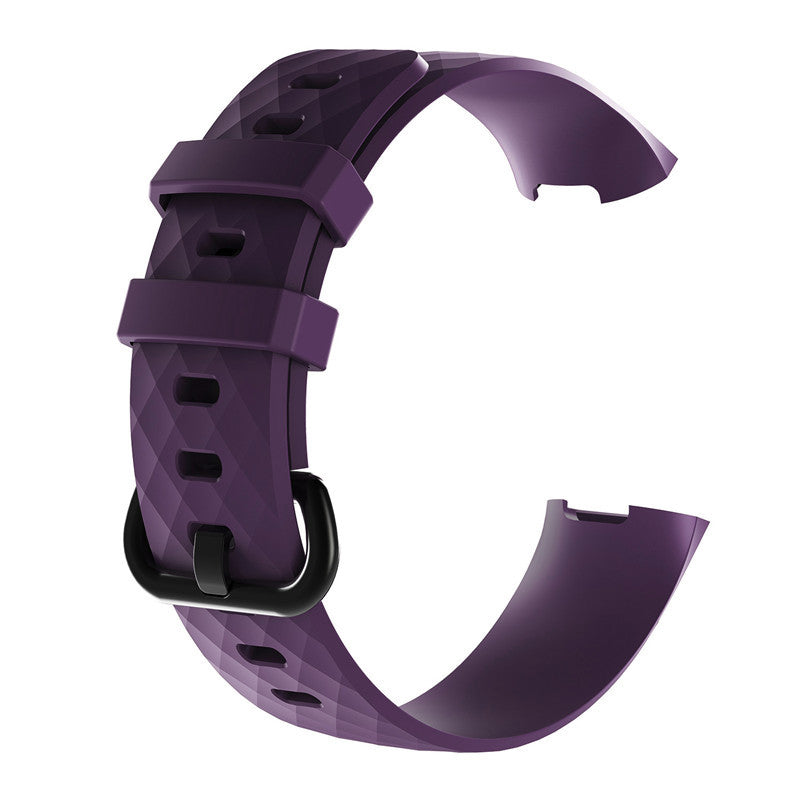 Fitbit Charge 3 & 4 Silicone - Purple