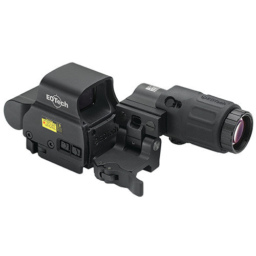 EOTech EXPS2-2 HWS, G33 magnifier and (STS) - All Rifle Scopes