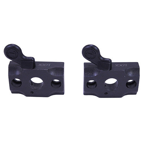 Leupold 2-Pc Base Quick Release Mount Forged Steel Matte Black