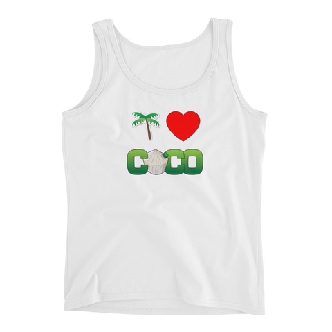 I Love Coco Ladies' Tank