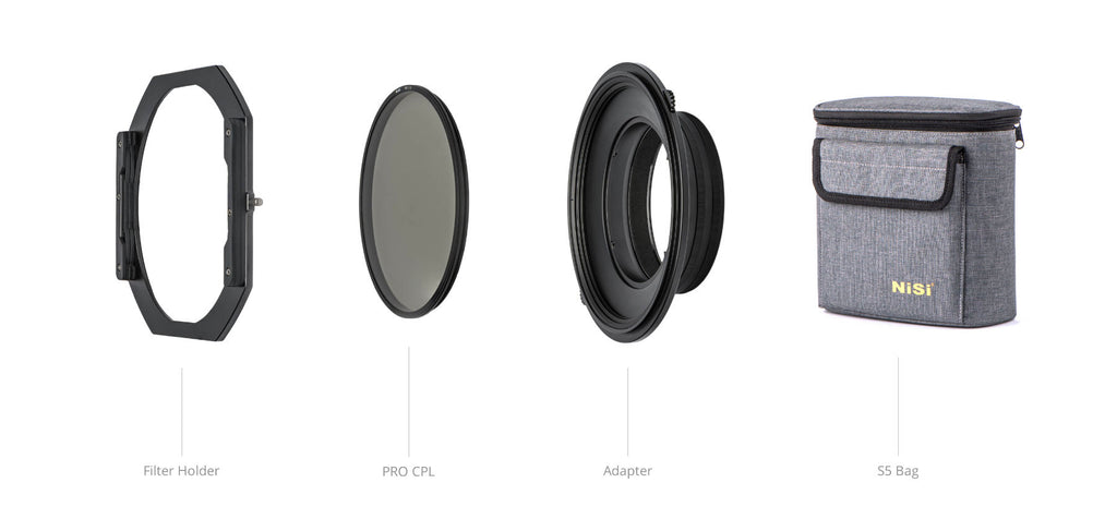 NiSi S5 150mm Filter Holder System now available