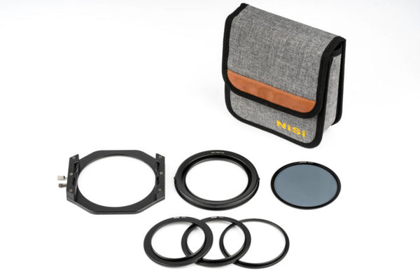 NiSi V6 100mm Filter Holder with Enhanced Landscape CPL + Lens Cap
