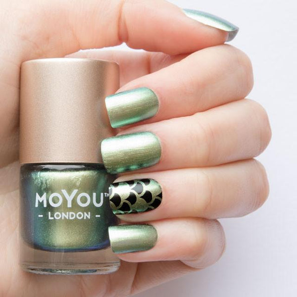 MoYou London Stamping Nail Lacquer - Croco Spark