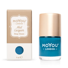 MoYou London Stamping Nail Lacquer - Deep Ocean