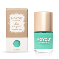 MoYou London Stamping Nail Lacquer - Turquoise Mint