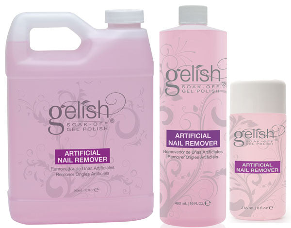 Gelish - Artificial Nail Remover (120ml, 236ml, 480ml or 960ml)