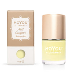 MoYou London Stamping Nail Lacquer - Banana Ice