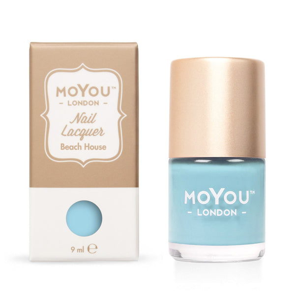 MoYou London Stamping Nail Lacquer - Beach House