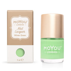 MoYou London Stamping Nail Lacquer - Winter Green