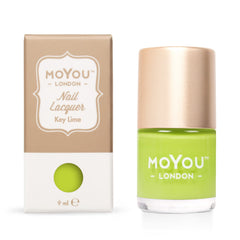 MoYou London Stamping Nail Lacquer - Key Lime