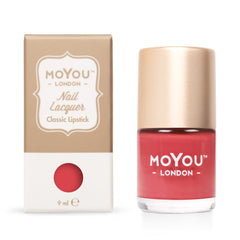 MoYou London Stamping Nail Lacquer - Classic Lipstick