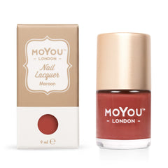 MoYou London Stamping Nail Lacquer - Maroon