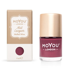 MoYou London Stamping Nail Lacquer - Mulled Wine