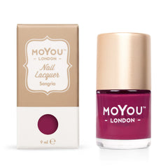 MoYou London Stamping Nail Lacquer - Sangria