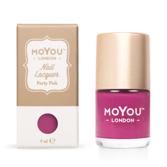 MoYou London Stamping Nail Lacquer - Party Pink
