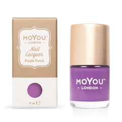 MoYou London Stamping Nail Lacquer - Purple Punch