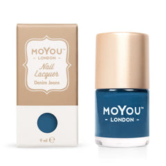 MoYou London Stamping Nail Lacquer - Denim Jeans