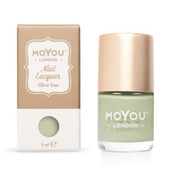 MoYou London Stamping Nail Lacquer - Olive Tree