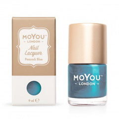 MoYou London Stamping Nail Lacquer - Peacock Blue