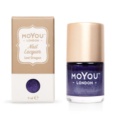MoYou London Stamping Nail Lacquer - Last Dragon