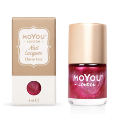 MoYou London Stamping Nail Lacquer - Cherry Fuzz