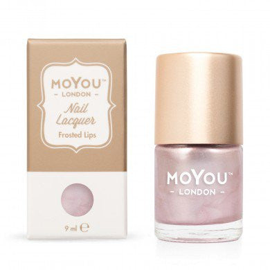 MoYou London Stamping Nail Lacquer - Frosted Lips