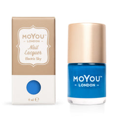 MoYou London Stamping Nail Lacquer - Electric Sky