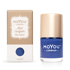 MoYou London Stamping Nail Lacquer - Blue Velvet