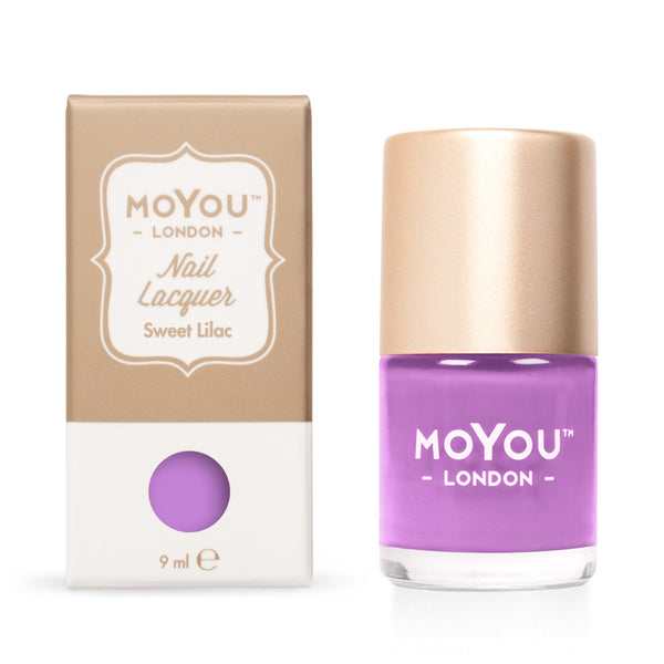 MoYou London Stamping Nail Lacquer - Sweet Lilac