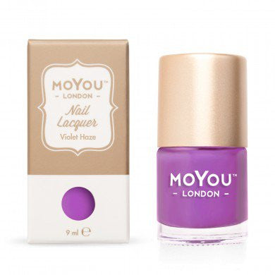 MoYou London Stamping Nail Lacquer - Violet Haze