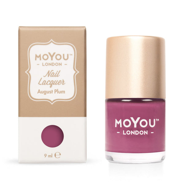MoYou London Stamping Nail Lacquer - August Plum