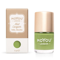 MoYou London Stamping Nail Lacquer - Hello, Absinthe