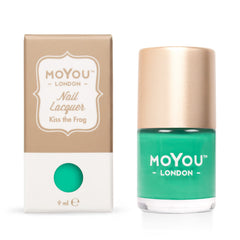MoYou London Stamping Nail Lacquer - Kiss The Frog