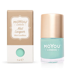 MoYou London Stamping Nail Lacquer - Mint Condition