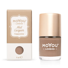 MoYou London Stamping Nail Lacquer - Cappuccino