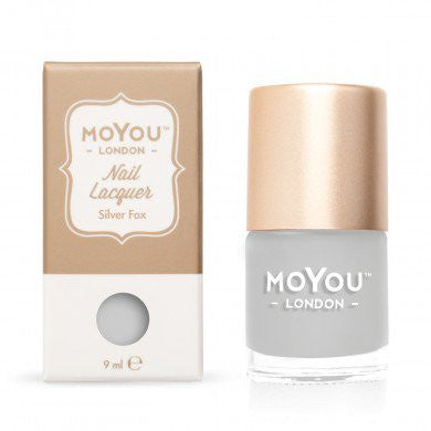 MoYou London Stamping Nail Lacquer - Silver Fox