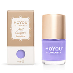 MoYou London Stamping Nail Lacquer - Periwinkle