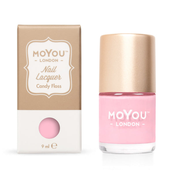 MoYou London Stamping Nail Lacquer - Candy Floss