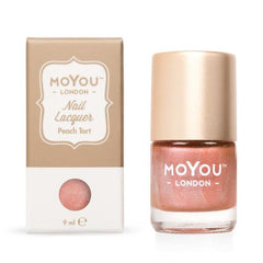 MoYou London Stamping Nail Lacquer - Peach Tart