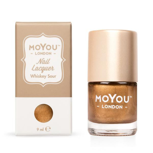 MoYou London Stamping Nail Lacquer - Whiskey Sour